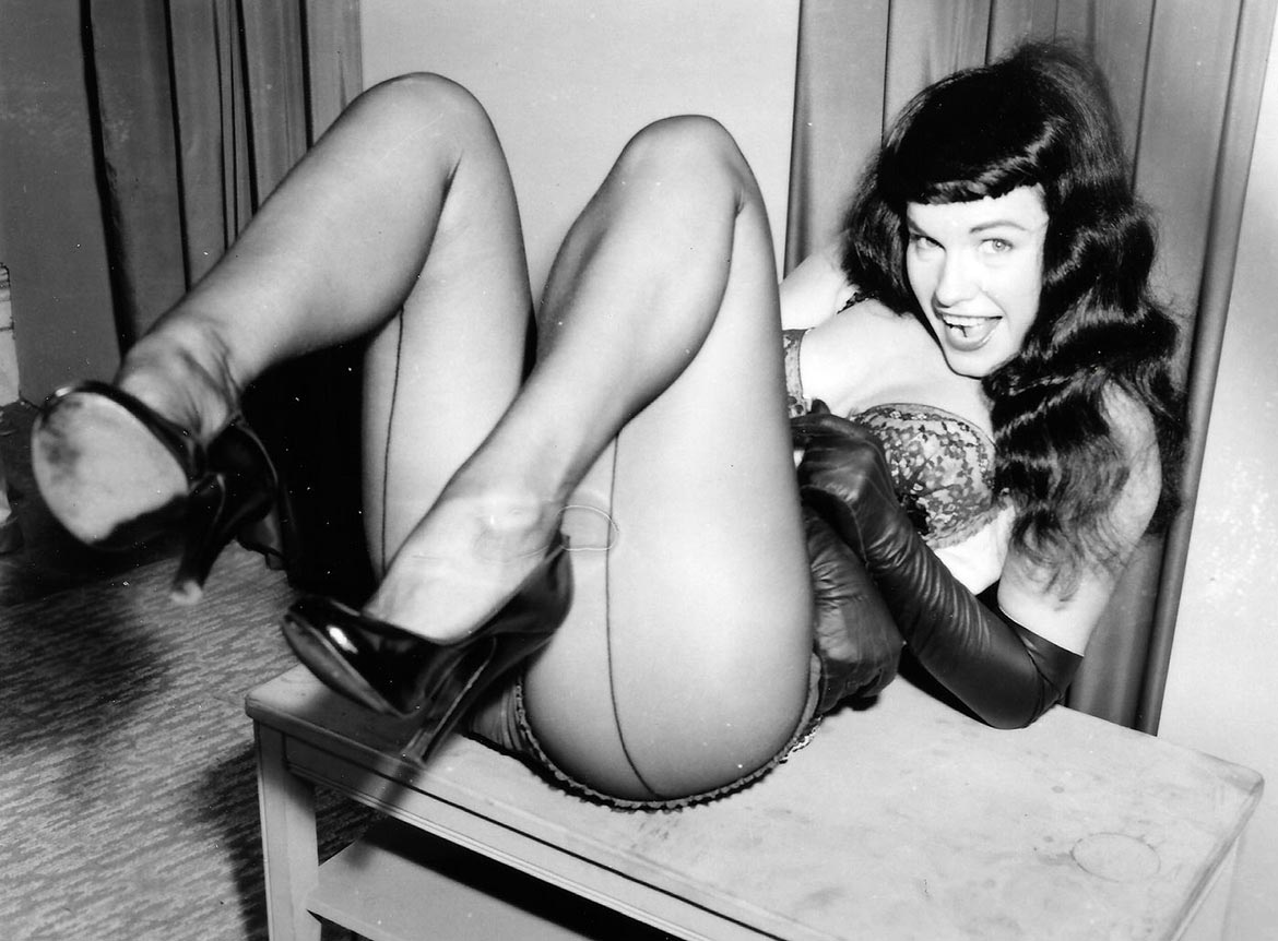 Bettie Page, Miss January 1955, Playboy Playmate