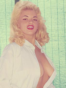 Jayne Mansfield, Miss February 1955, Playboy Playmate