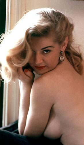 Marilyn Waltz, Miss April 1955, Playboy Playmate