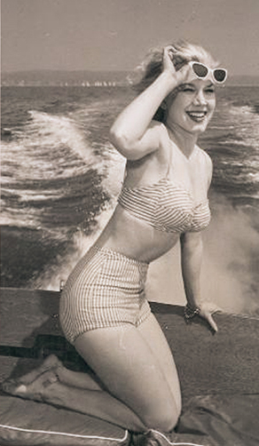 Marian Stafford, Miss March 1956, Playboy Playmate