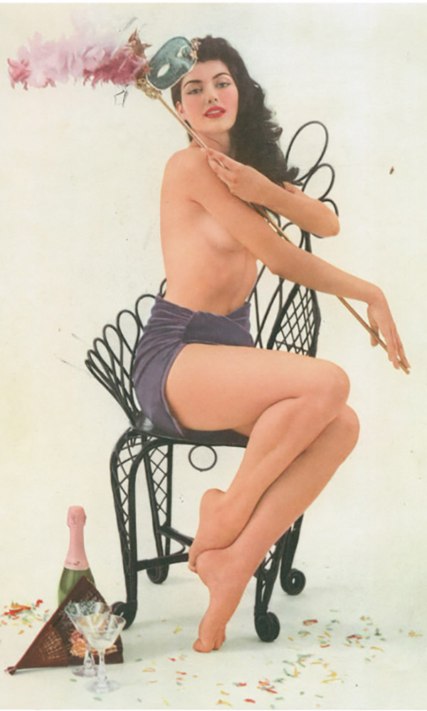 Sandra Edwards, Miss March 1957, Playboy Playmate