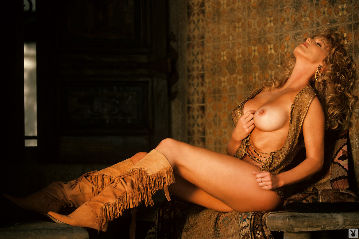 Kathy Shower, Miss May 1985, Playboy Playmate
