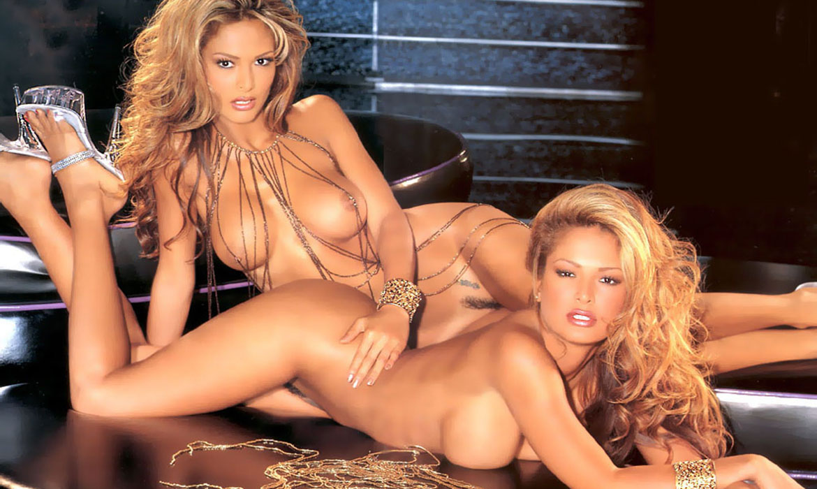 Carol and Darlene Bernaola, Miss January 2000, Playboy Playmate