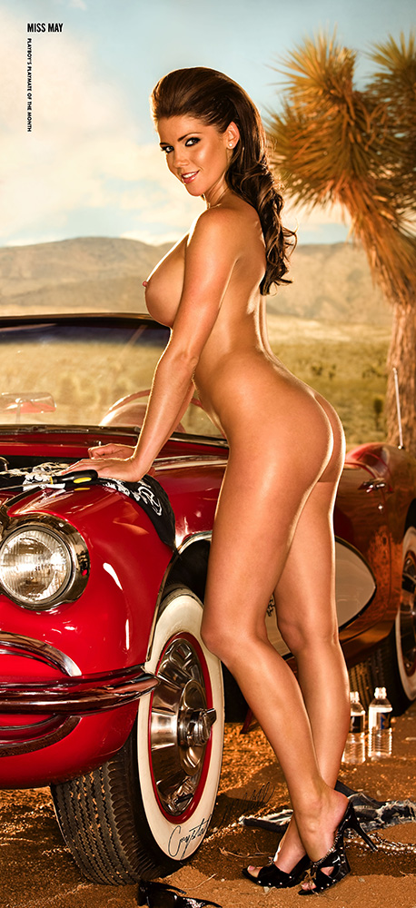 Crystal McCahill, Miss May 2009, Playboy Playmate