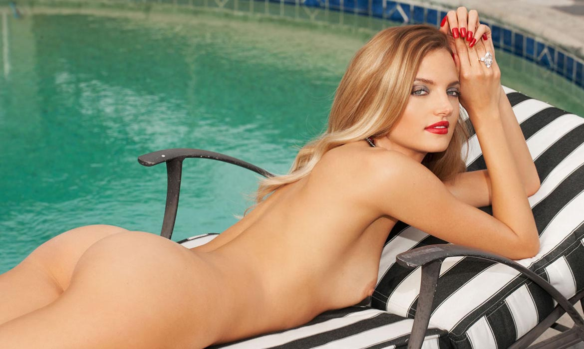 Amanda Booth, Miss February 2014, Playboy Playmate