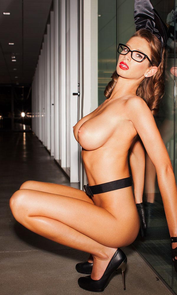 Emily Agnes, Miss July 2014, Playboy Playmate