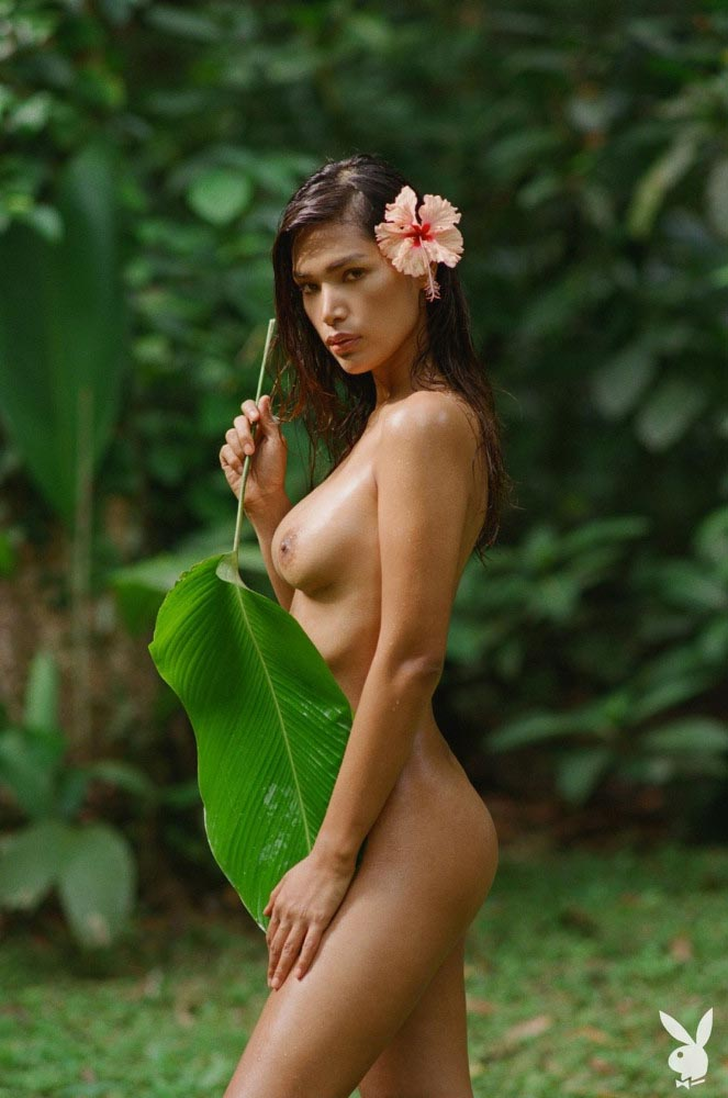 Geena Rocero, Miss August 2019, Playboy Playmate